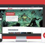 Új weboldal