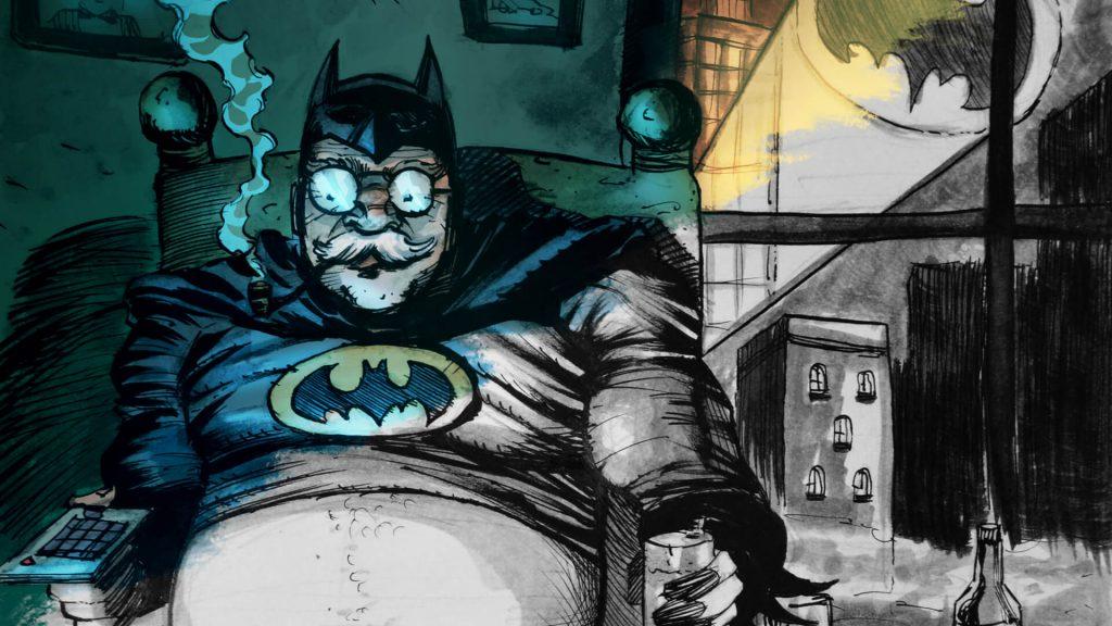 Batman képregény illusztráció | Original Comix